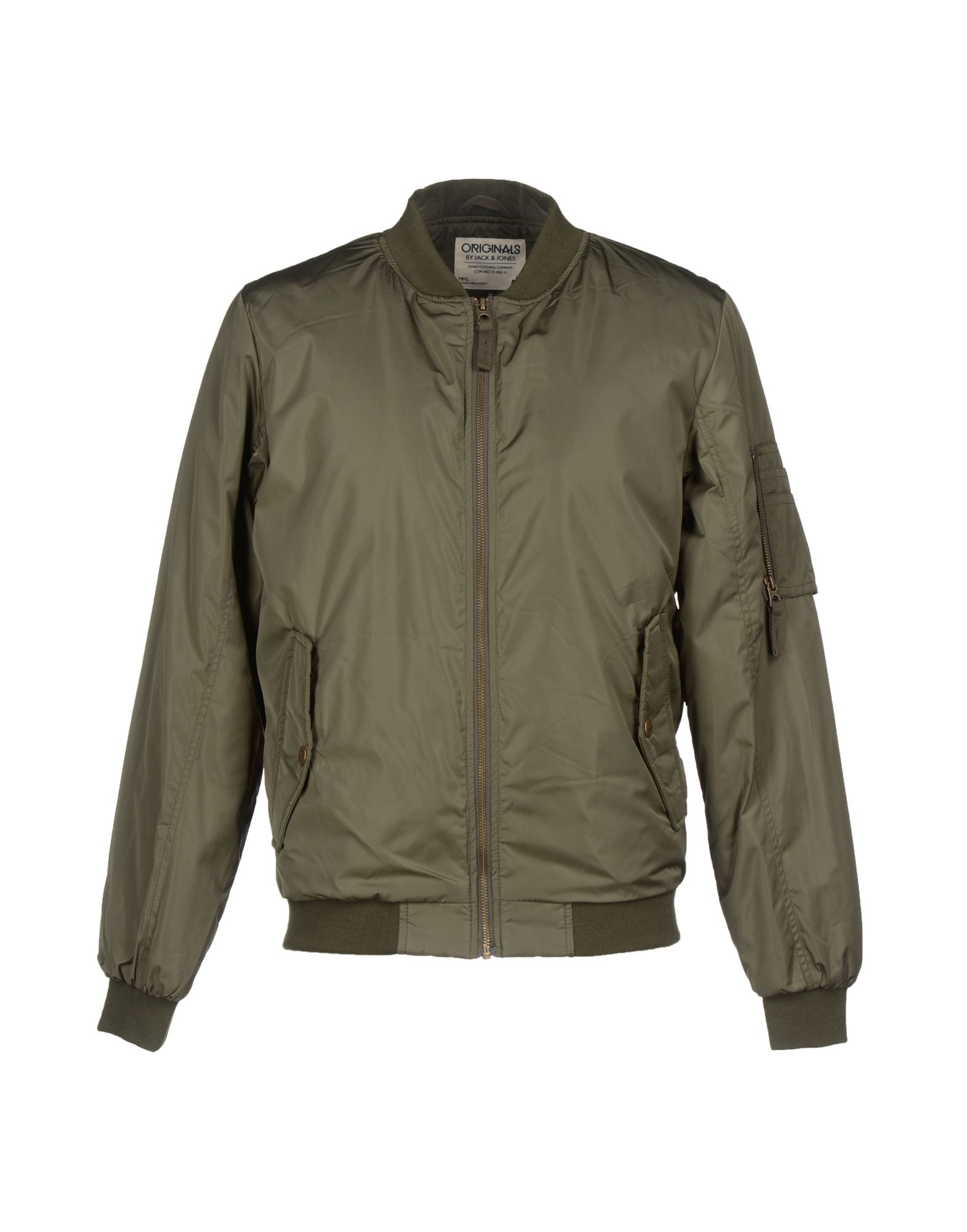originals by jack jones jacket in green for men military green lyst. Black Bedroom Furniture Sets. Home Design Ideas