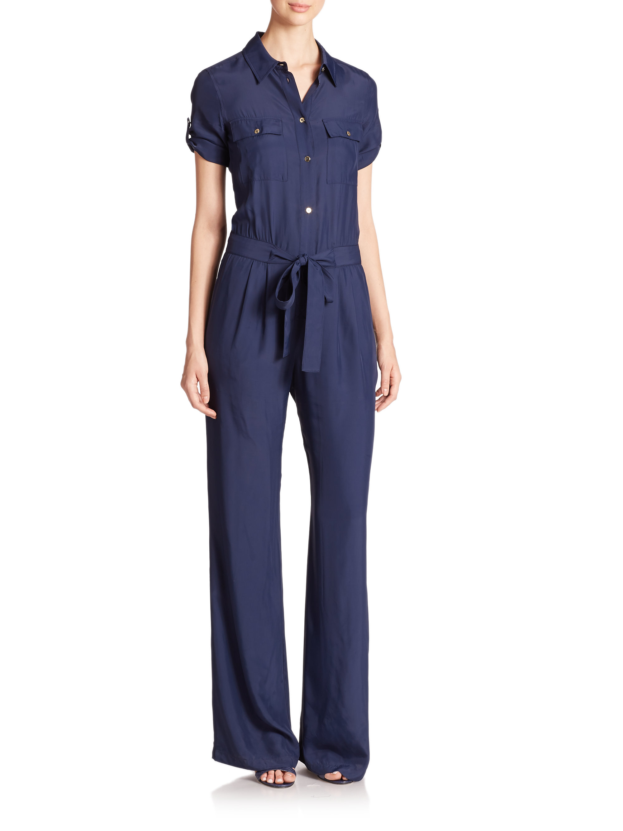 Amazing Navy Blue Jumpsuit Womens - Breeze Clothing