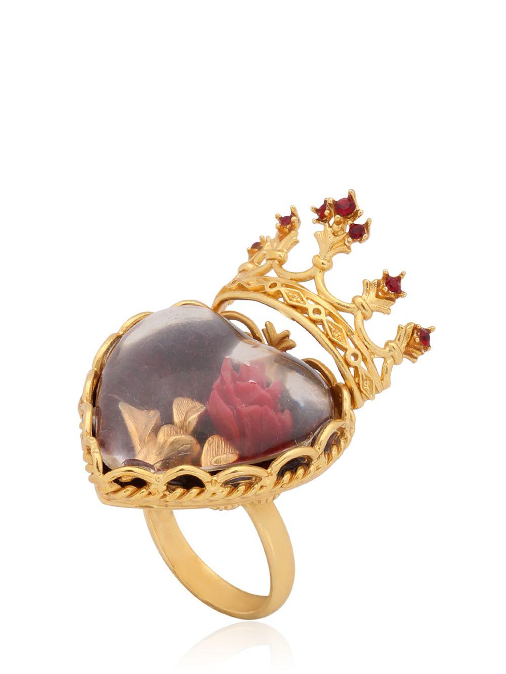 Dolce & Gabbana Sacred Heart Ring In Gold  Lyst. Model Wedding Rings. Morganite Engagement Rings. 24k Engagement Rings. Jacqueline Kennedy's Wedding Rings. David Yurman Rings. Beachy Wedding Rings. Multiple Engagement Rings. Asifa Wedding Rings