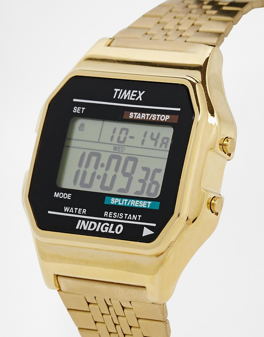 Lyst Timex Exclusive For Asos Vintage Style Digital