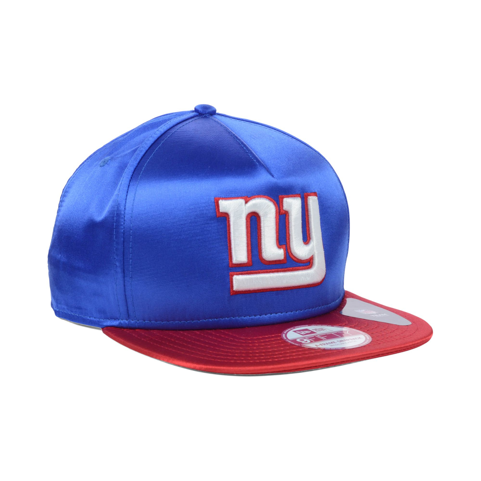 new era new york giants satin a frame 9fifty snapback cap. Black Bedroom Furniture Sets. Home Design Ideas