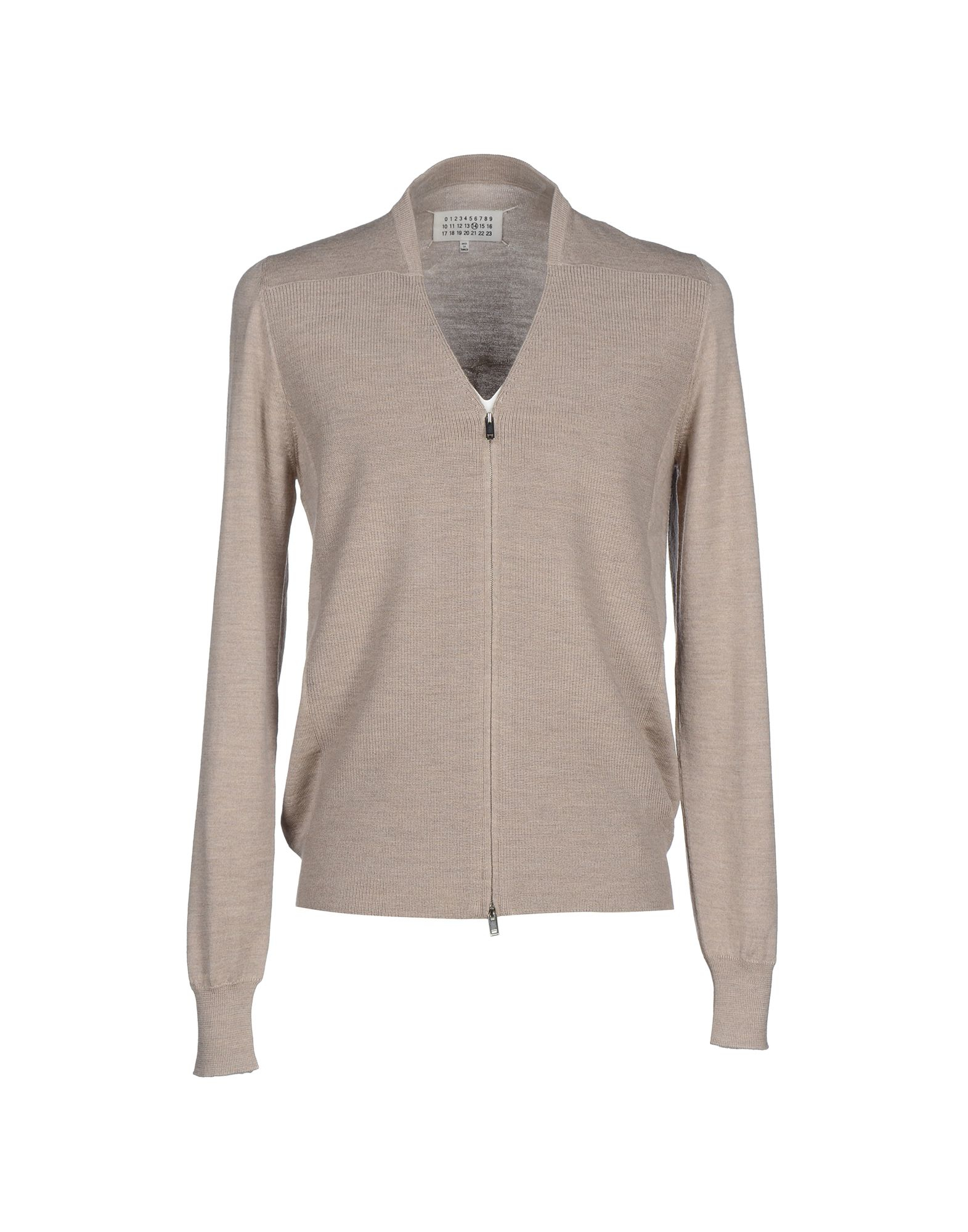 Lyst maison margiela cardigan in gray for men for A la maison lotion
