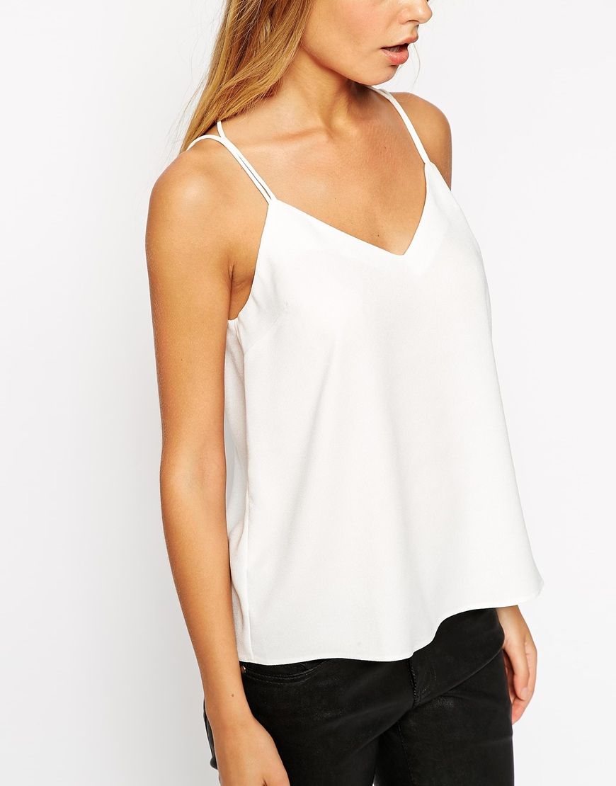 Discover cami tops with ASOS. Browse the range of cami tops with tie-sleeves, stylish collars and open back styles to match your outfit today.