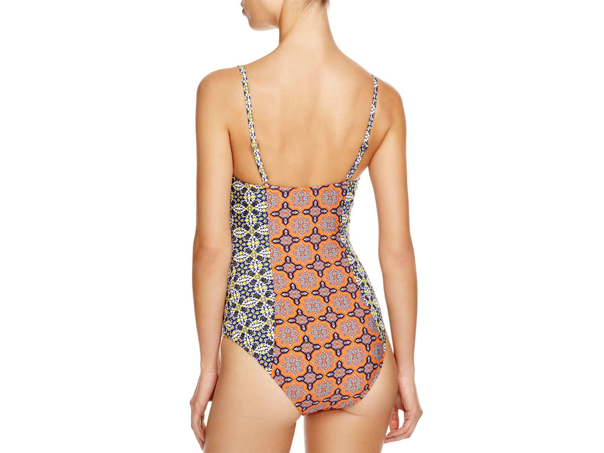 Minkpink Pepper & Splice One Piece Swimsuit in Multicolor ...