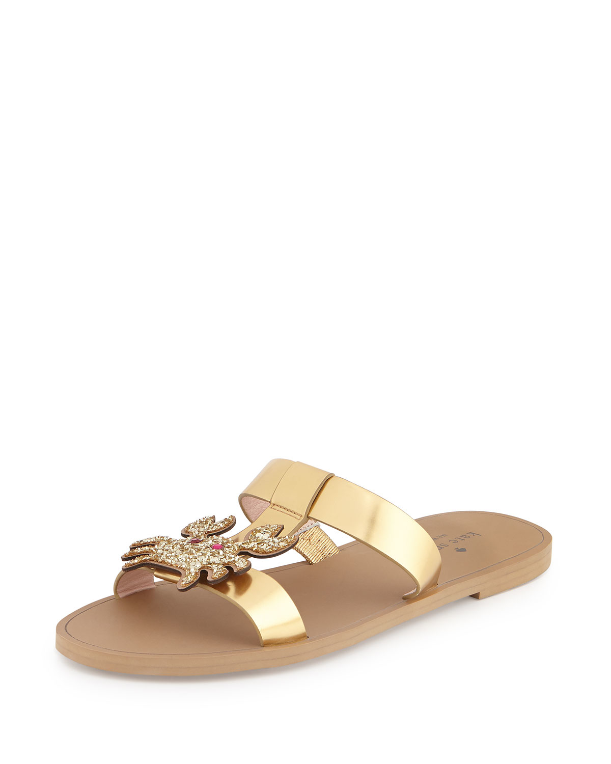 sale footlocker finishline cheap in China Kate Spade New York Fringe Metallic Sandals clearance fast delivery outlet affordable FcmaD5