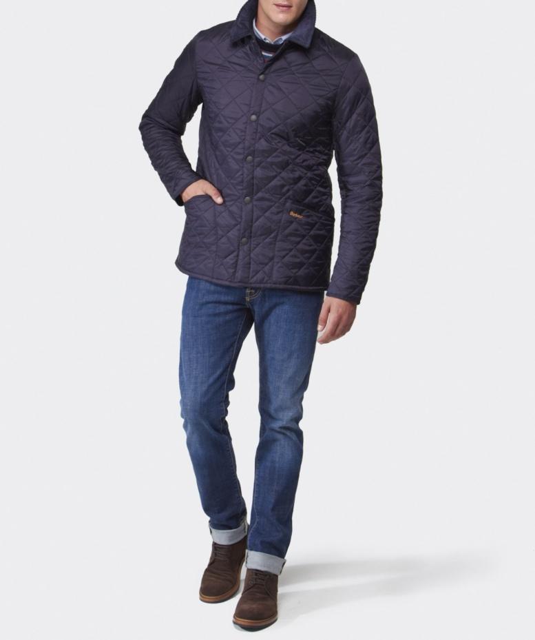 Barbour Heritage Liddesdale Quilted Jacket in Blue for Men | Lyst : barbour heritage liddesdale quilted jacket - Adamdwight.com