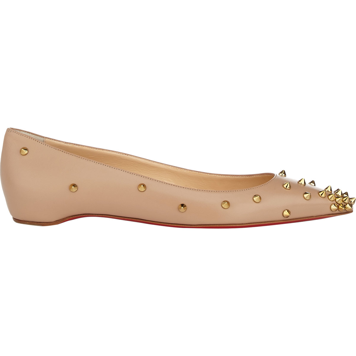 7b5ae24ad41 Gallery. Previously sold at  Barneys New York · Women s Christian Louboutin  Degraspike Women s Gold ...