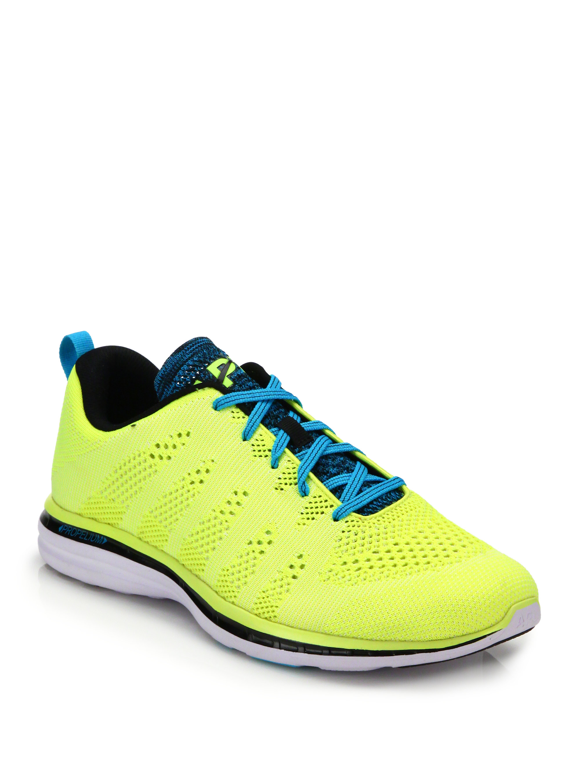 athletic propulsion labs techloom pro glow woven low top