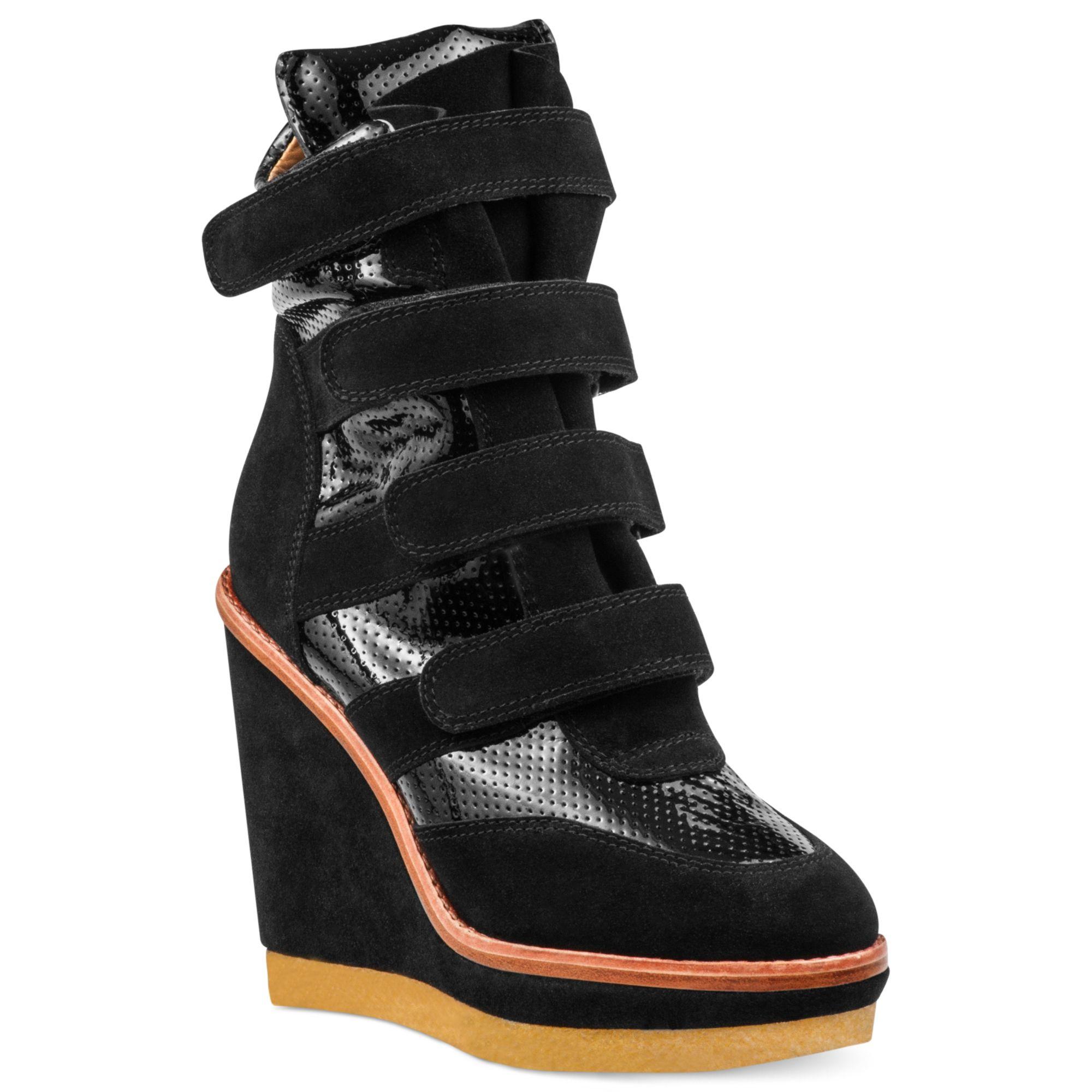 Modern Vice Cray Platform Wedge Sneakers In Black Lyst