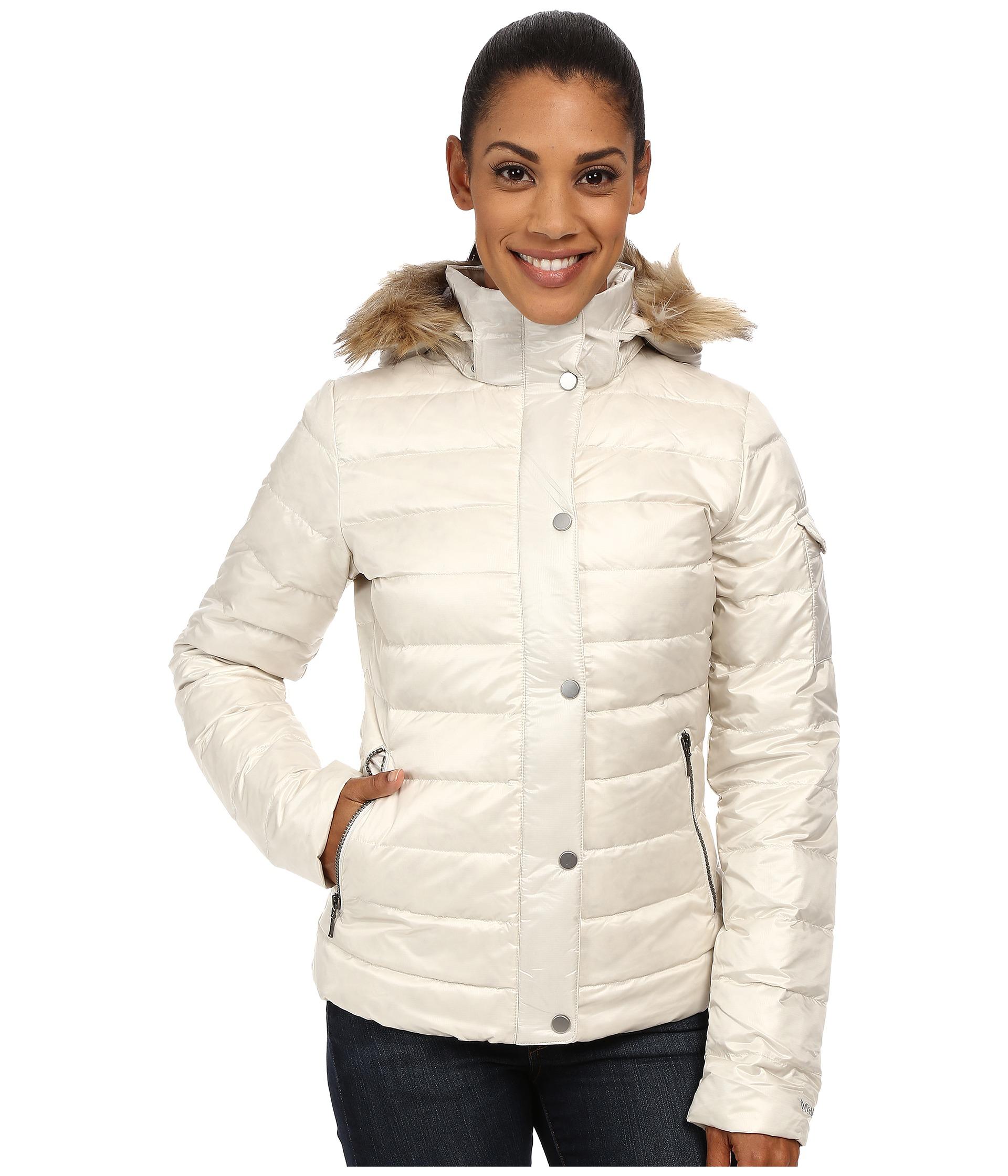 0325163c1 Lyst - Marmot Hailey Jacket in White