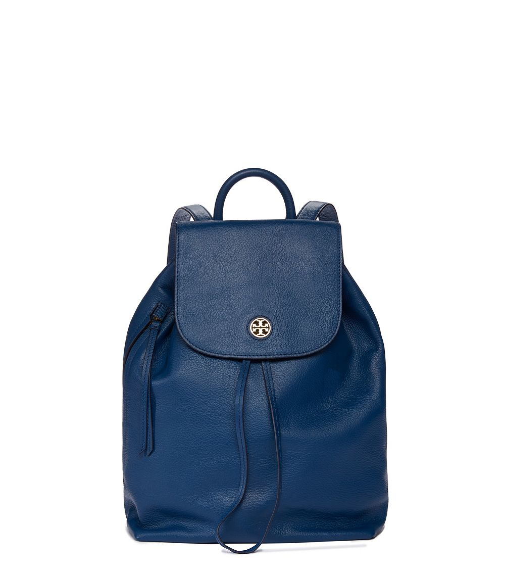 ab988d90d52c Tory Burch Brody Backpack in Blue - Lyst