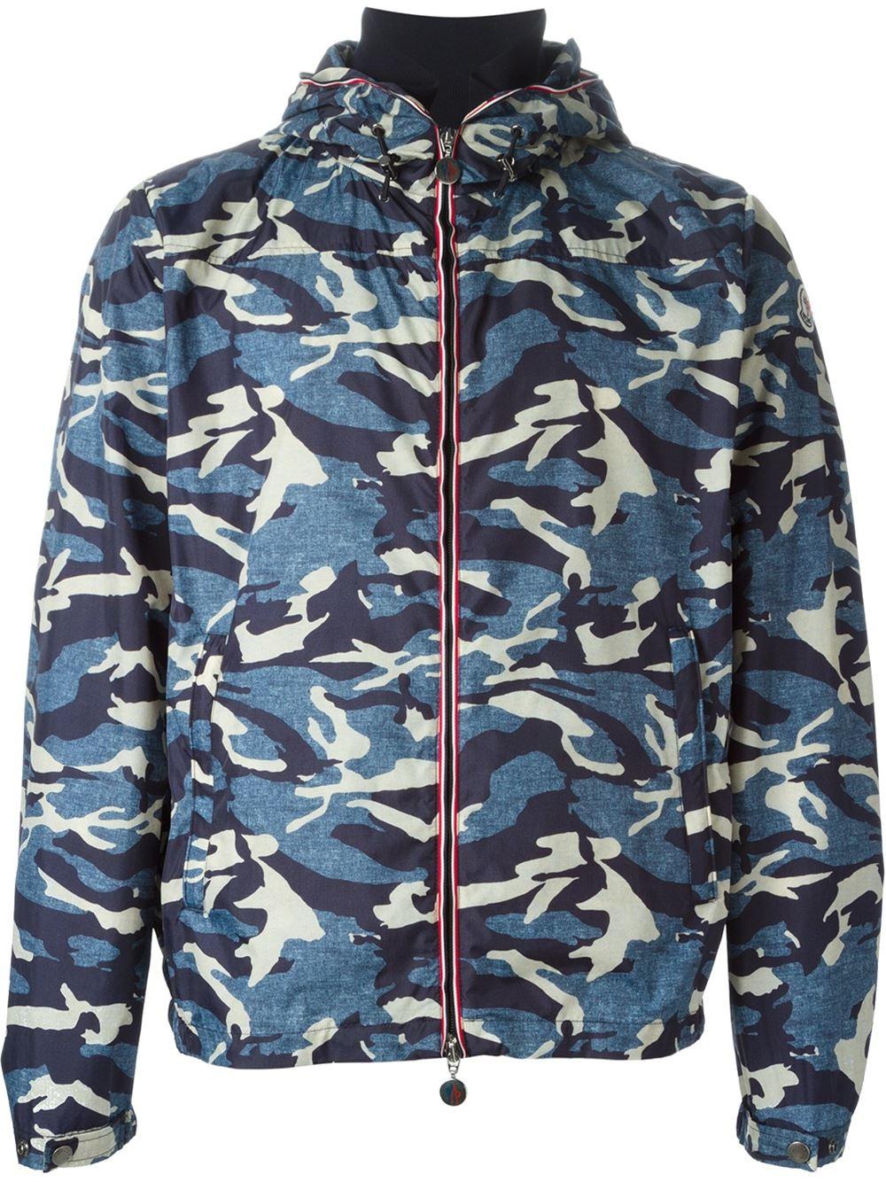 Moncler Camo Jacket Mens