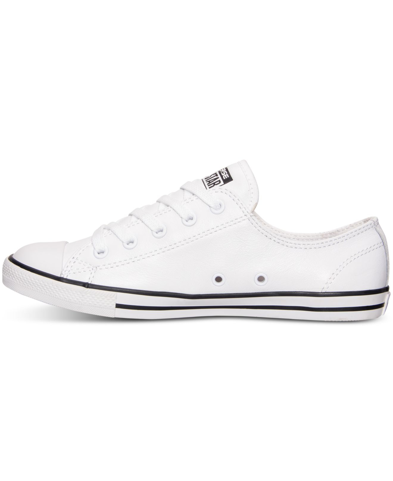 Womens Converse Dainty White Leather offerzone.co.uk 8c04cdac1