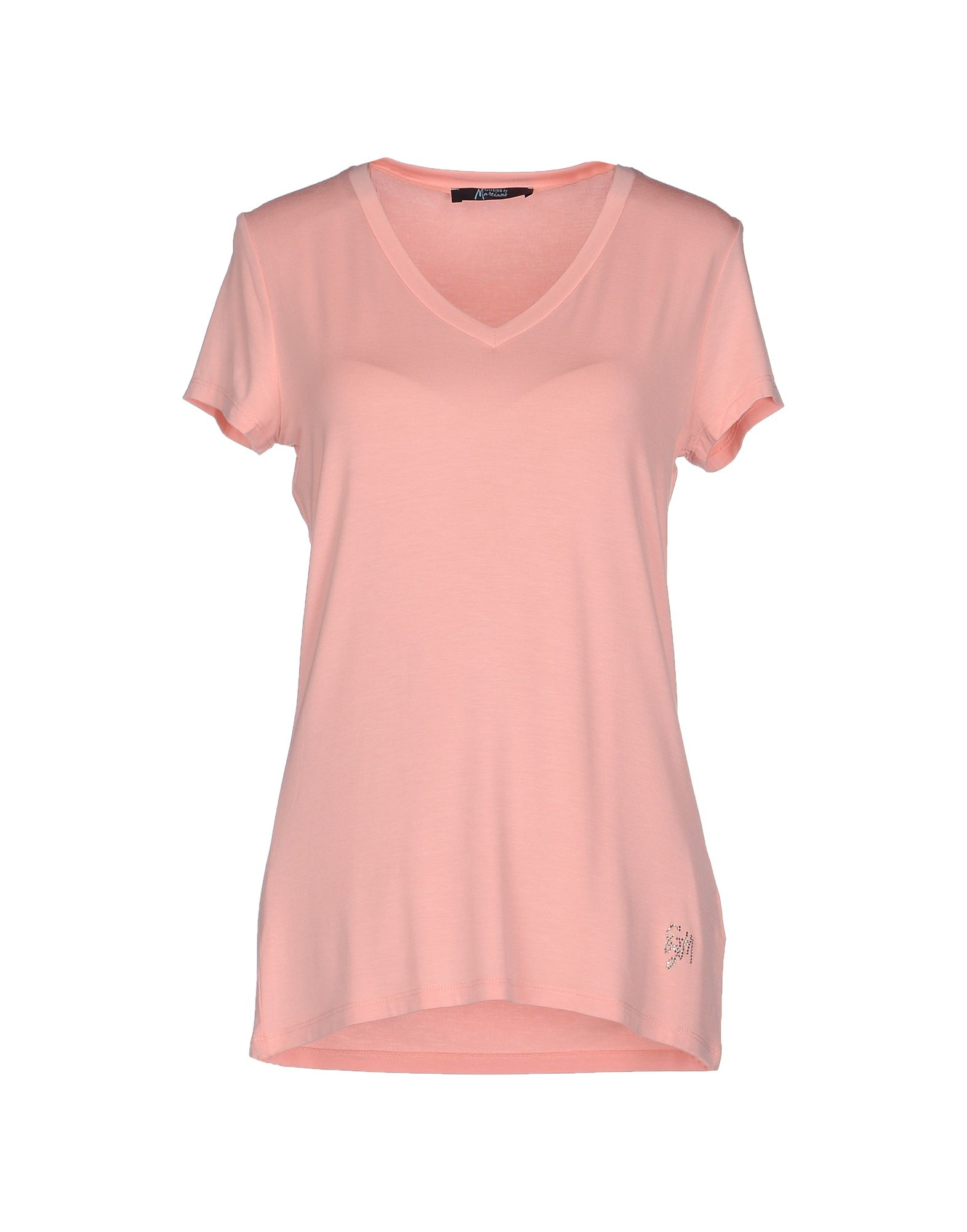 lyst guess t shirt in pink. Black Bedroom Furniture Sets. Home Design Ideas