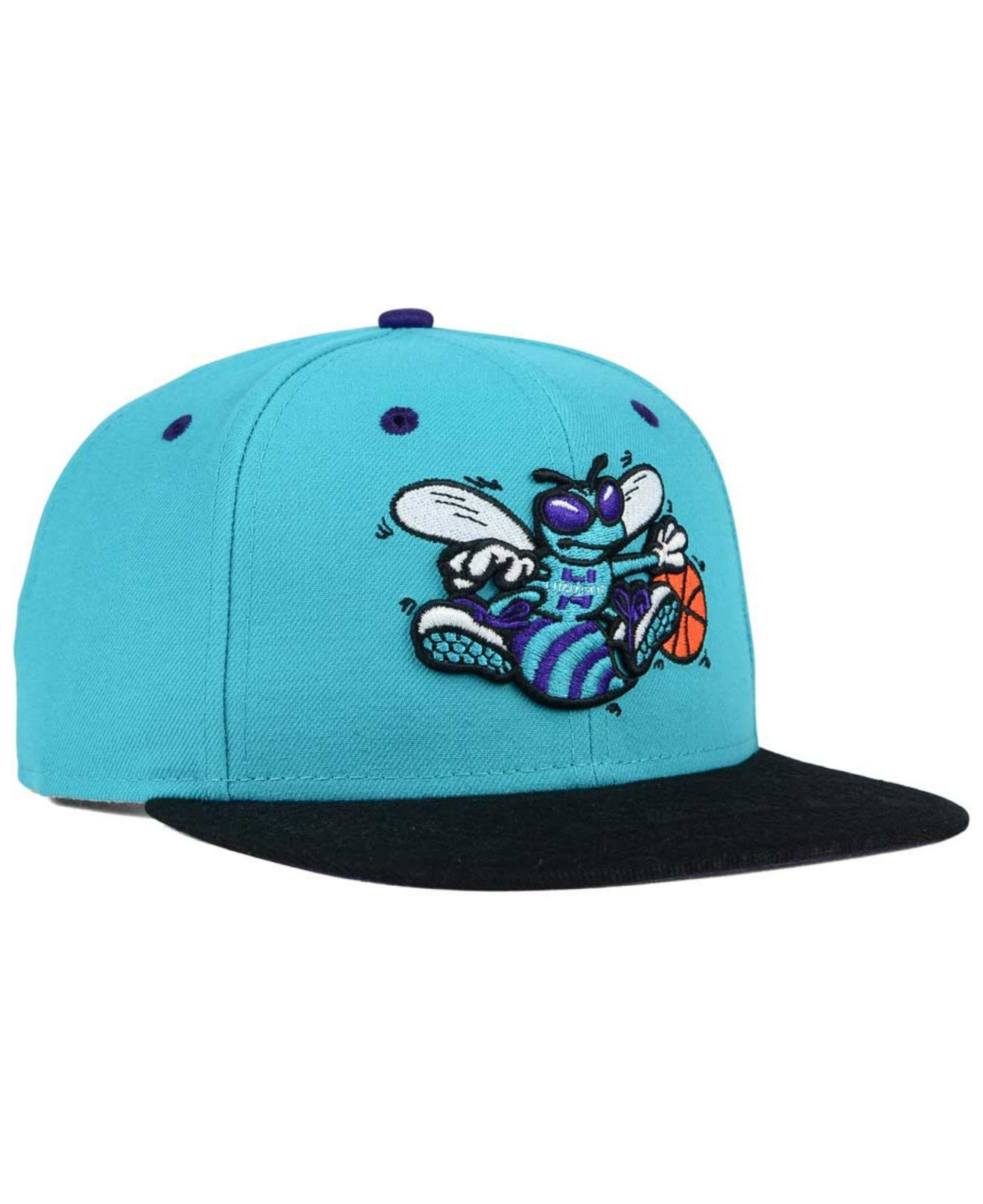 53e29504c76 Lyst - KTZ Charlotte Hornets Tone 9fifty Snapback Cap in Blue for Men