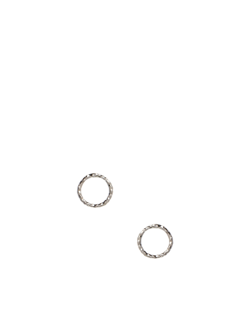 Dogeared Exclusive For Asos Tiny Sparkle Karma Sterling