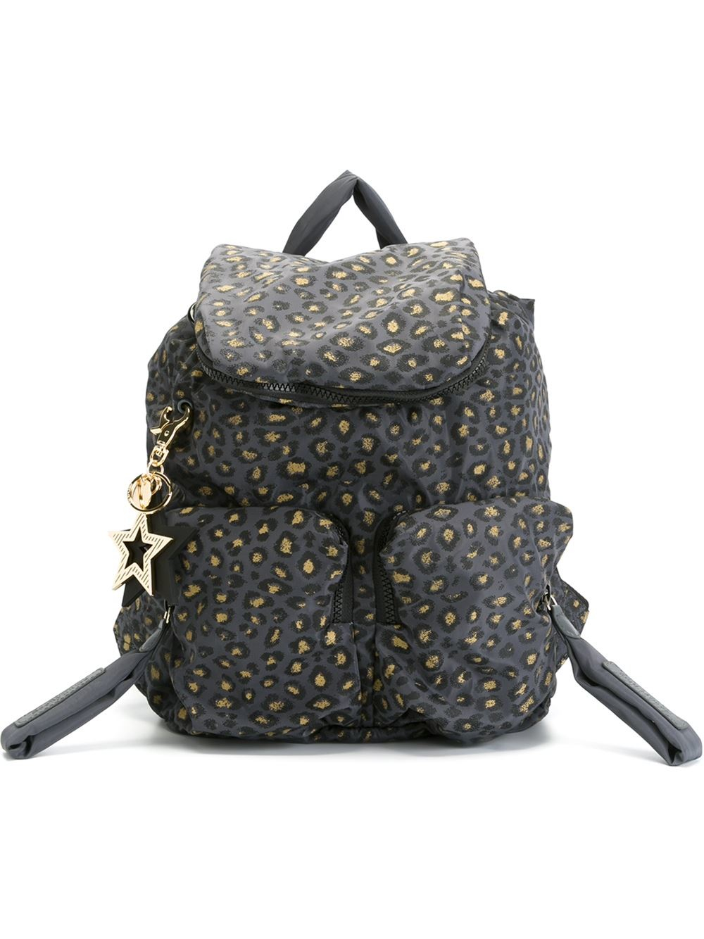 Lyst - See By Chloé  joy Rider  Backpack in Gray 0ade45686eab4