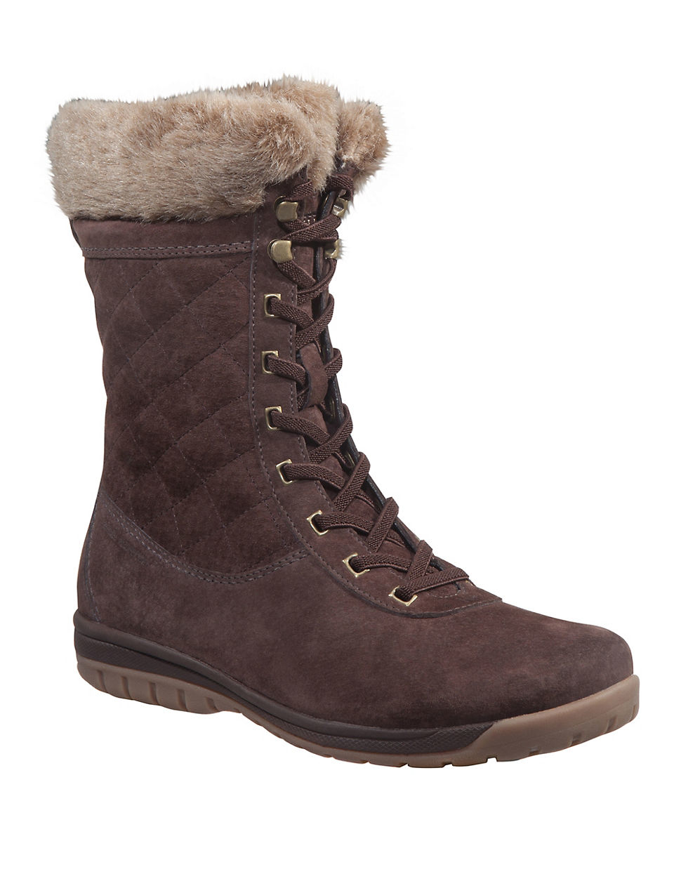 helly hansen s eir 4 faux fur lined suede boots in