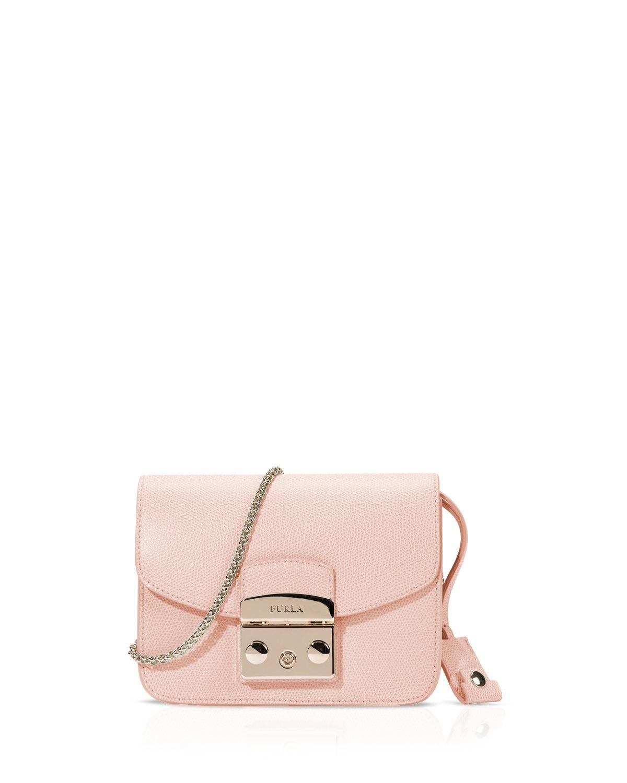 e6a3e6809 Furla Crossbody Bag - Metropolis Mini in Pink - Lyst