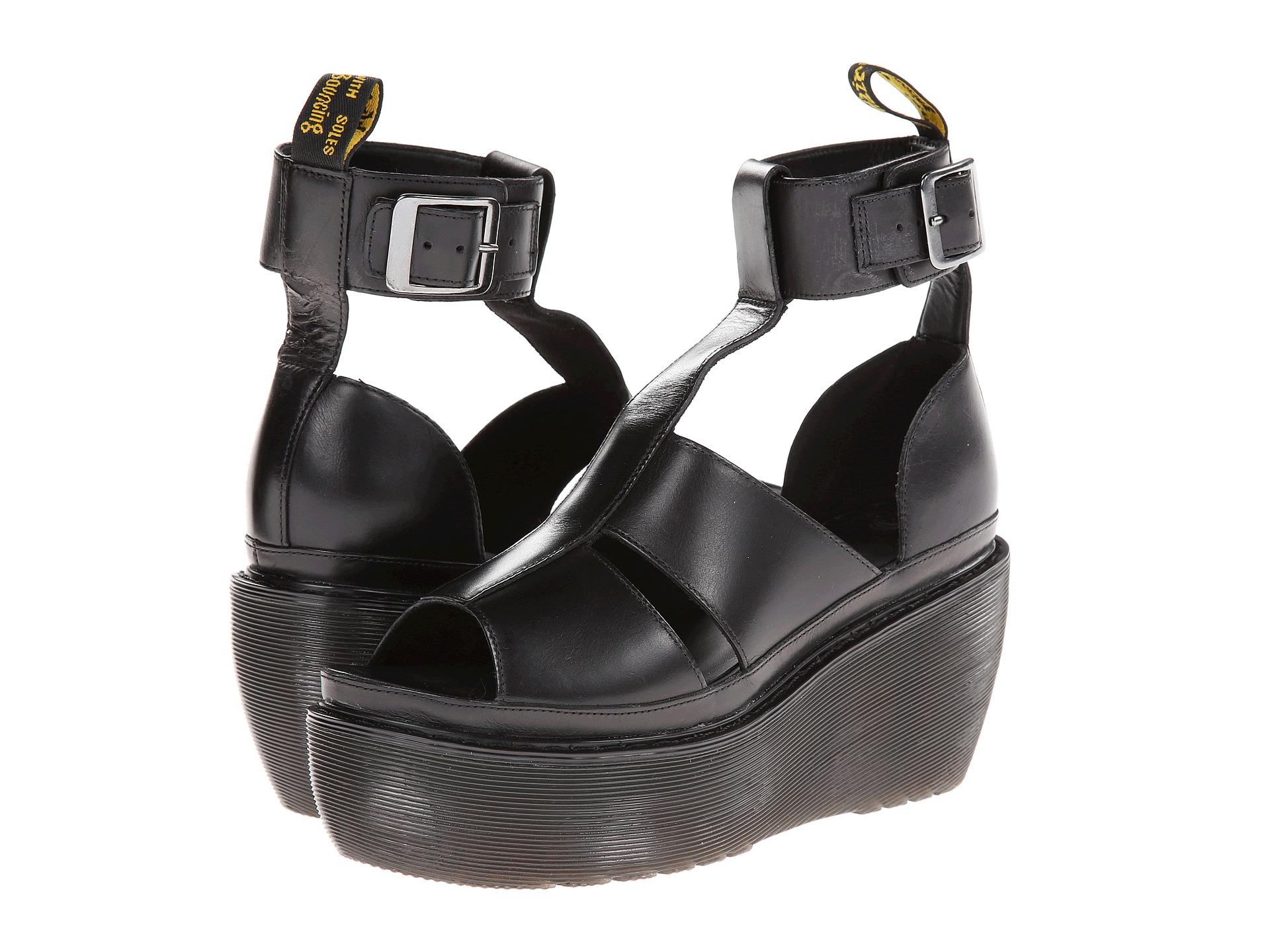 215760fa Dr. Martens Bessie Ankle Strap Sandal in Black - Lyst
