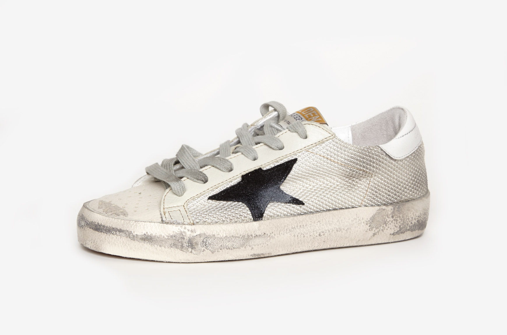 golden goose deluxe brand superstar sneakers in gray lyst