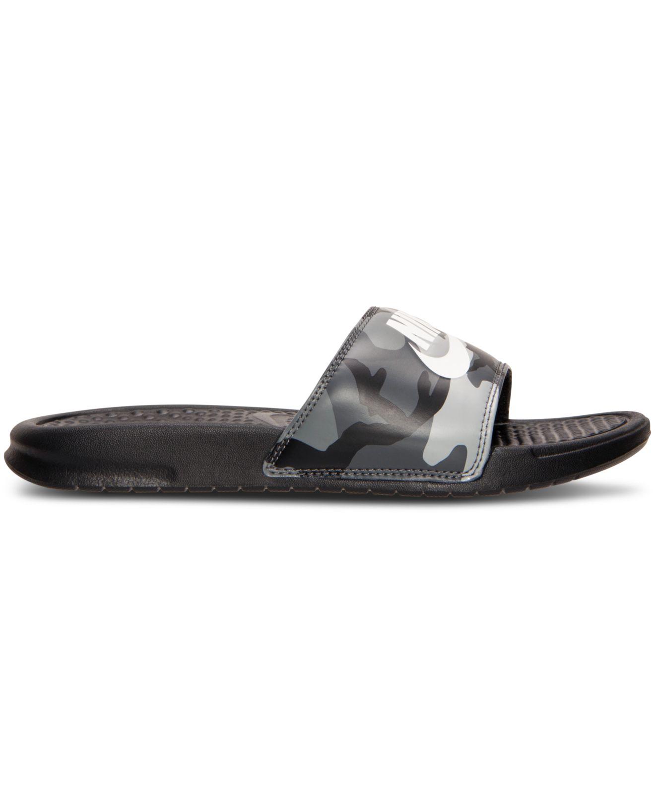 8393784e27ad8 Lyst - Nike Men s Benassi Jdi Print Slide Sandals From Finish Line ...