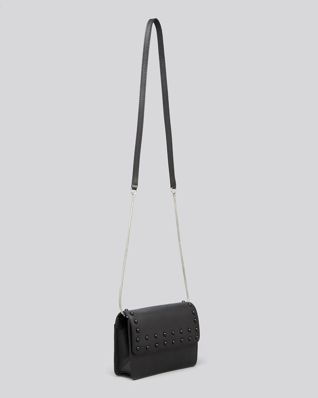 Milly Shoulder Bag Beacon Stud Mini in Black | Lyst