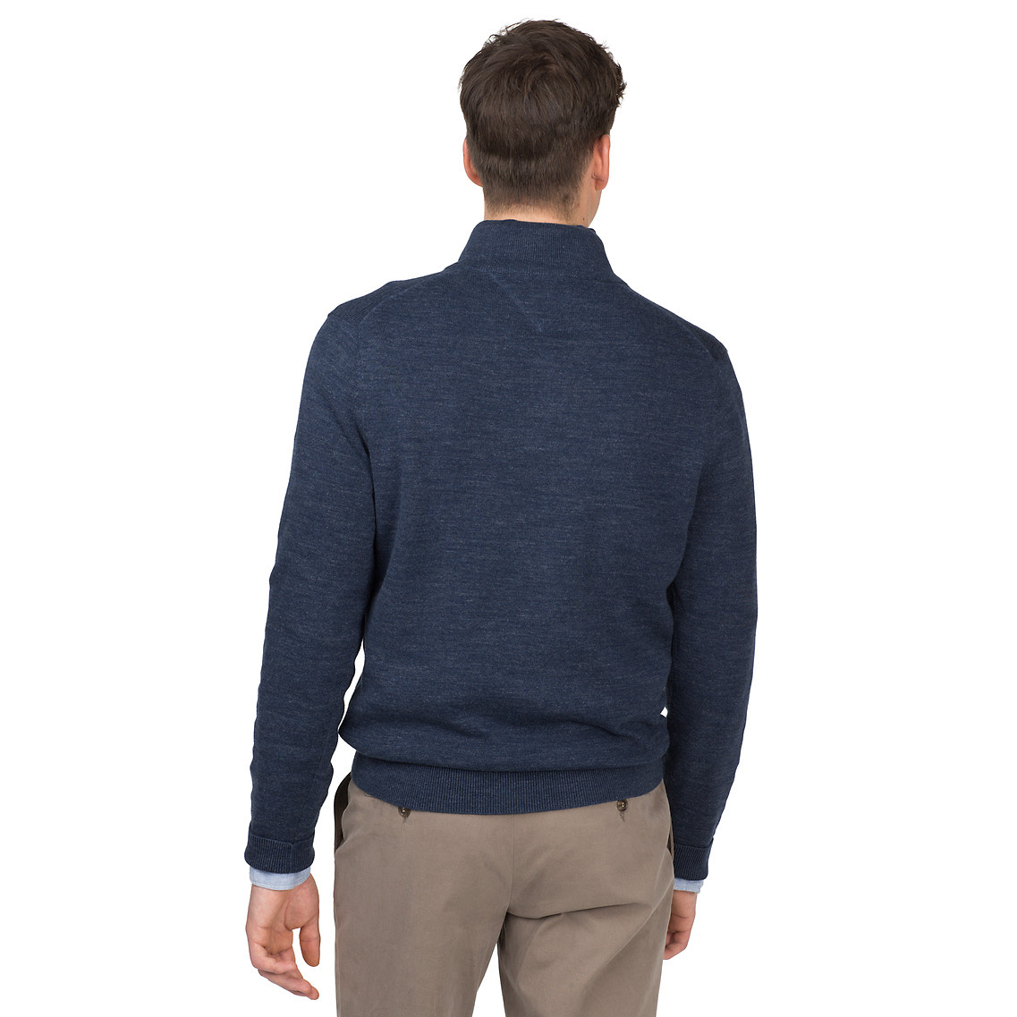 Tommy hilfiger Classic Sweater in Blue for Men   Lyst 8bca129f7fe2