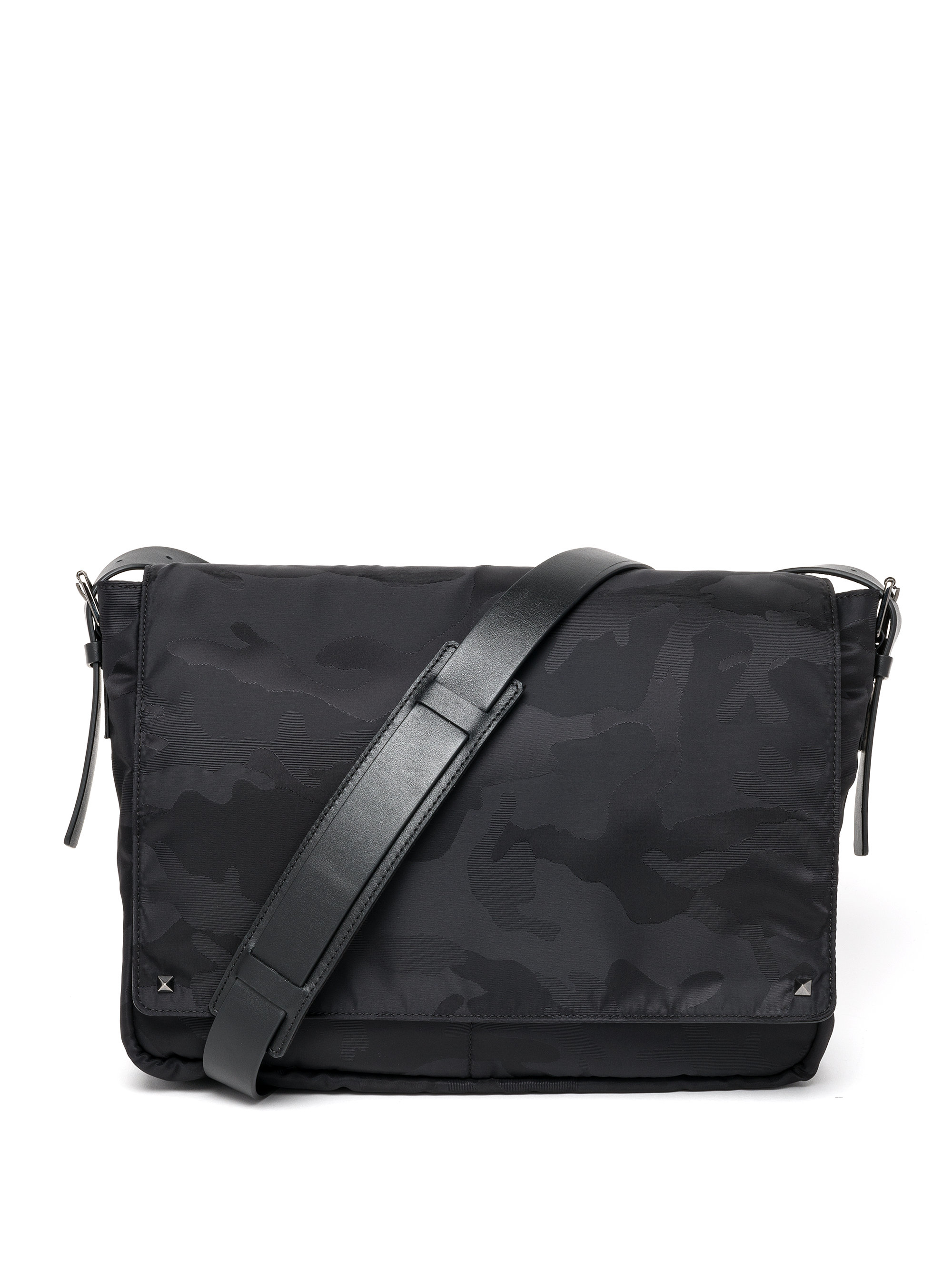 Black camouflage shoulder bag Valentino mRzORFy6qR