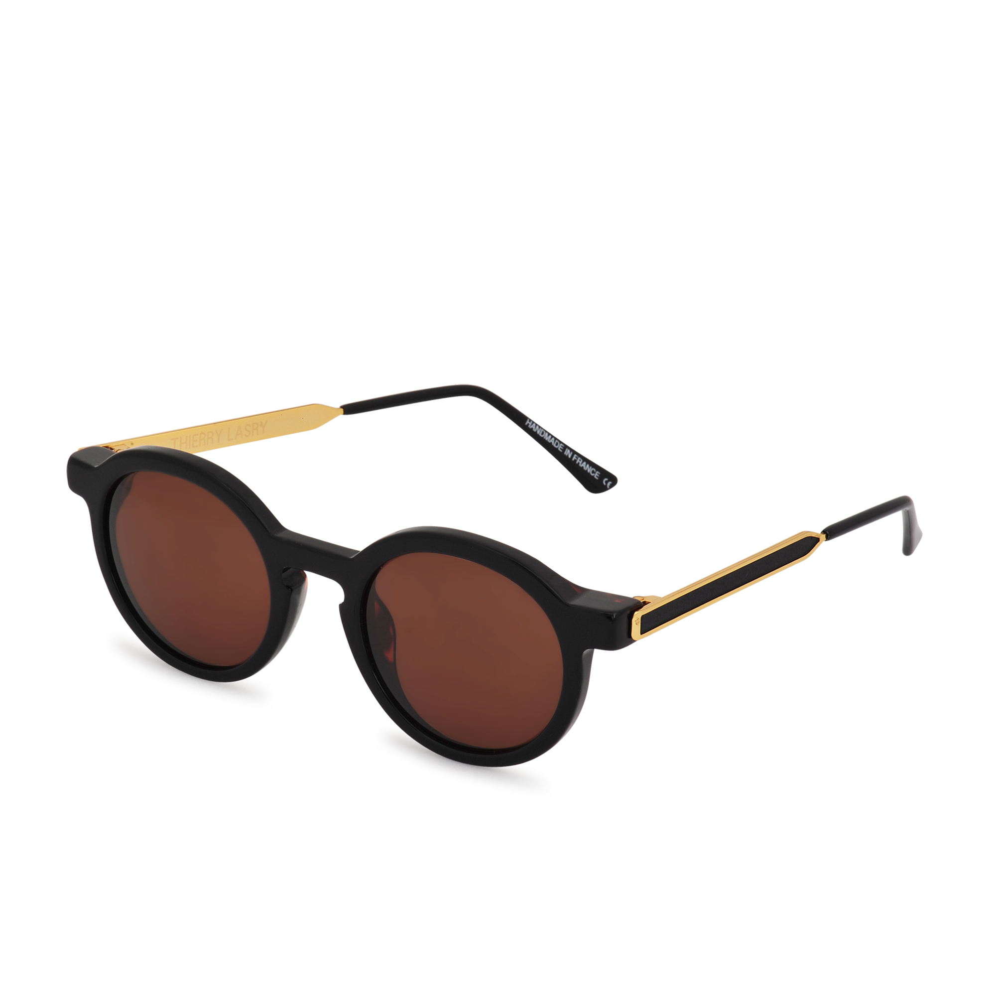 26842f585c Lyst - Thierry Lasry Sobriety 101 Sunglasses in Black