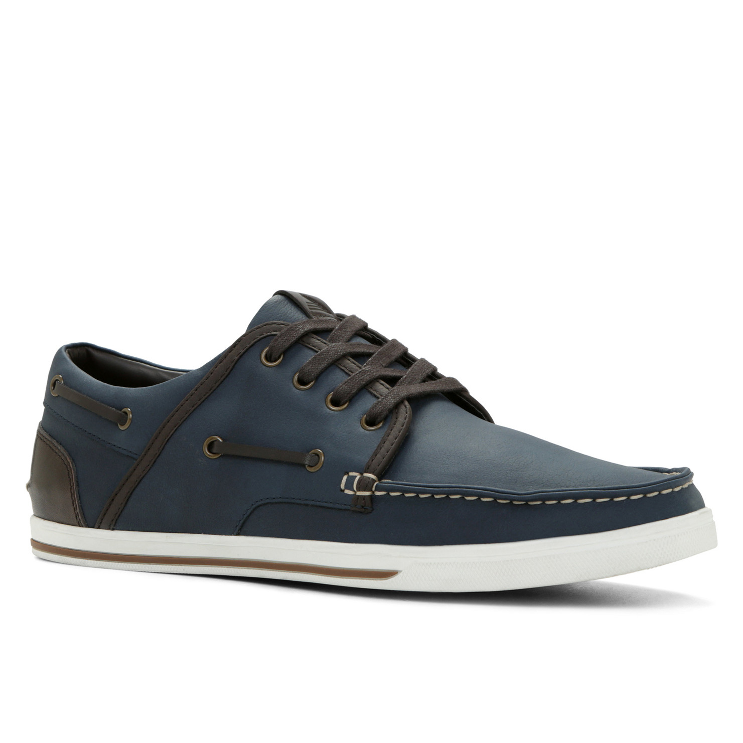 Aldo Navy Blue Oxford Shoes