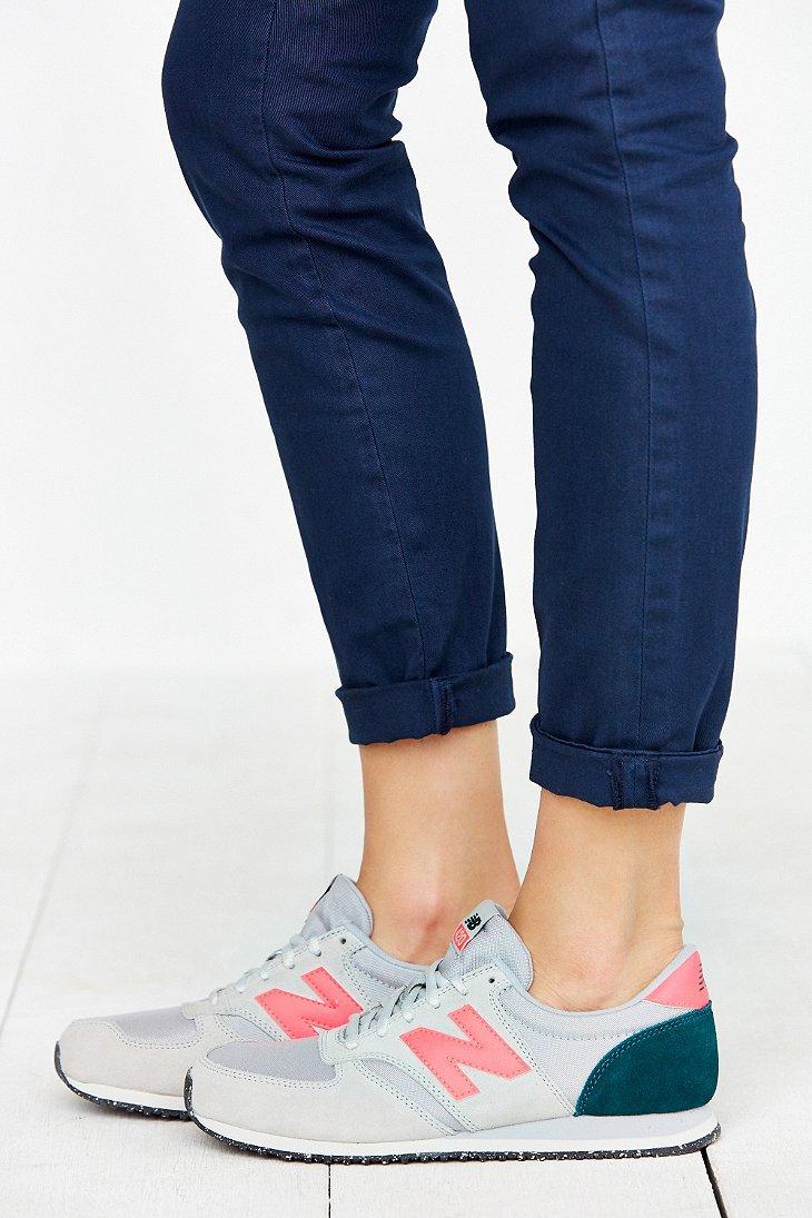 6b99d7b6d192e New Balance 420 Capsule Composite Running Sneaker in Gray - Lyst