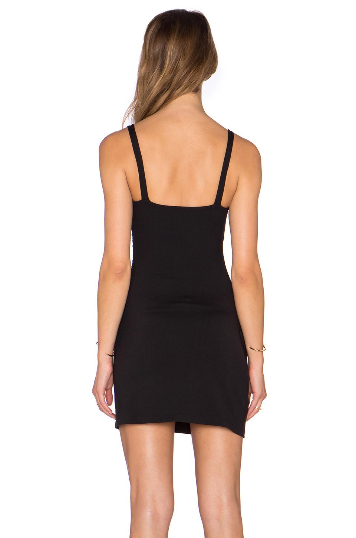Lyst Susana Monaco Gathered Tank Dress In Black