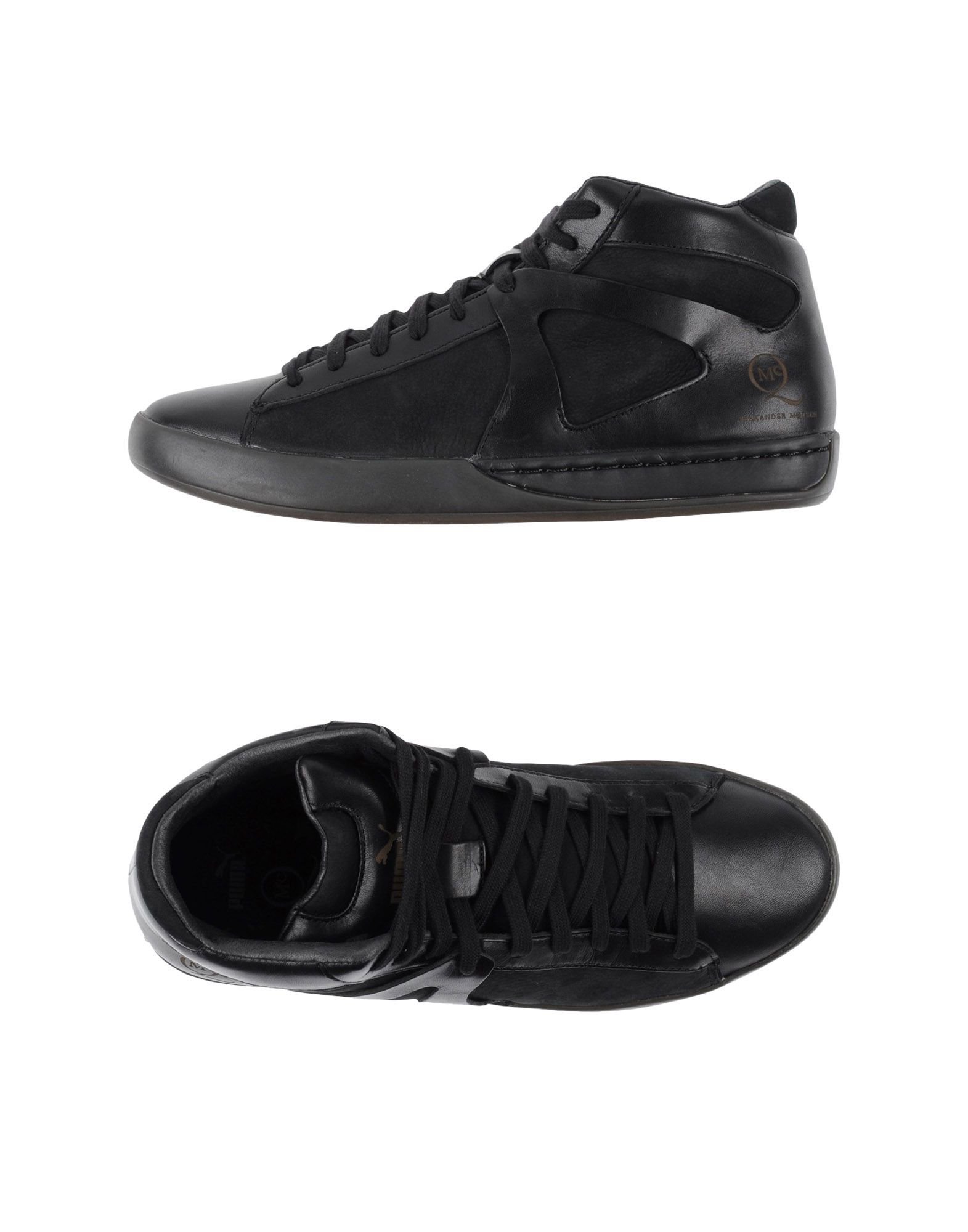 Lyst - Alexander McQueen X Puma Move Leather and Mesh High-Top ... f7239471f294