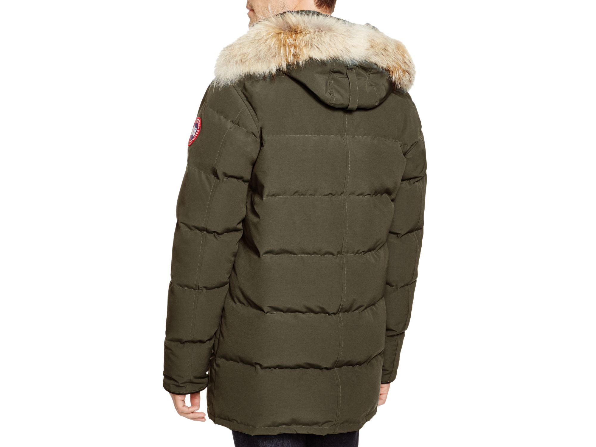 Canada Goose down sale authentic - Canada goose Carson Down Parka in Green for Men (Military Green ...