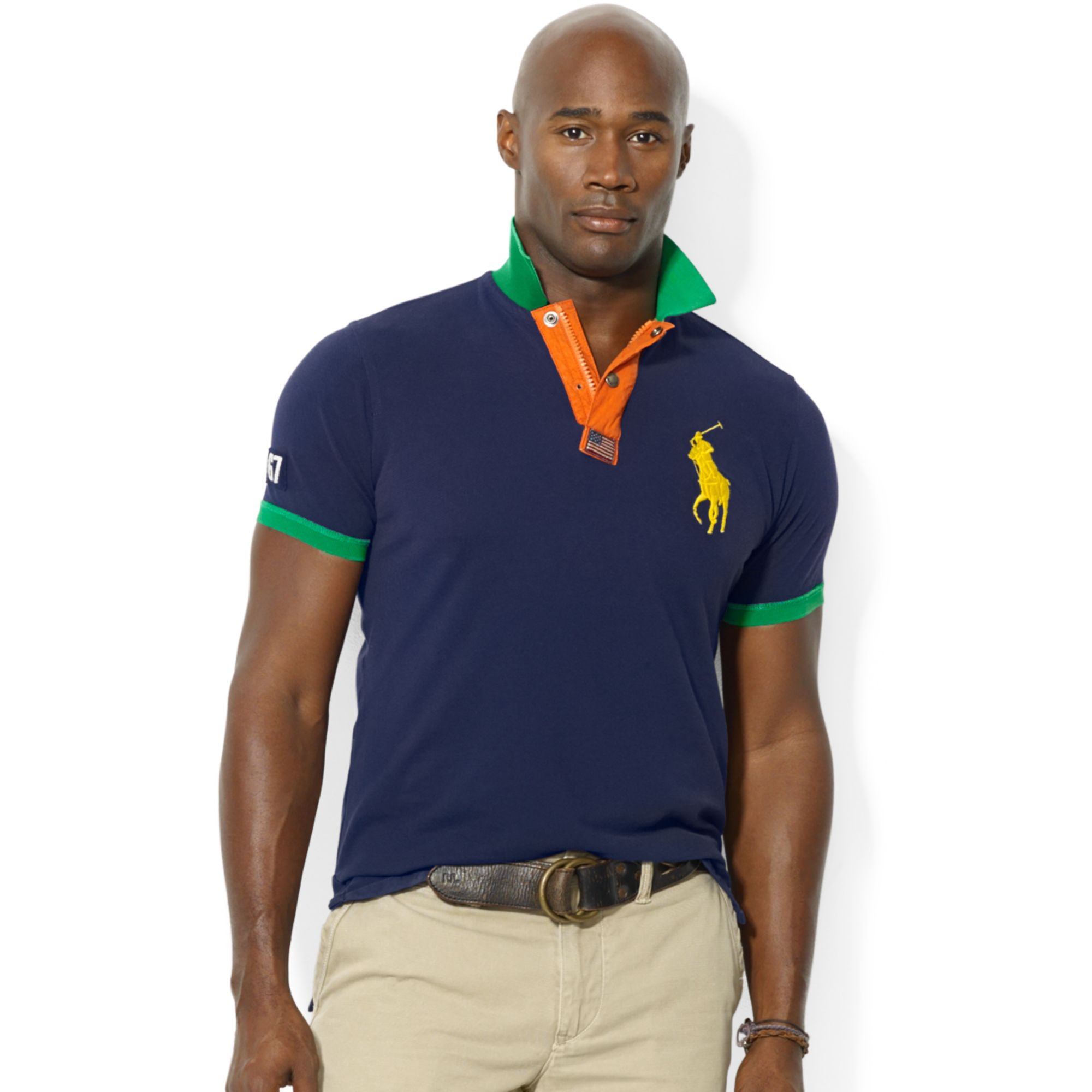 Lyst - Ralph Lauren Polo Big and Tall Classicfit 67 Mesh Polo in ... cd847577caad1