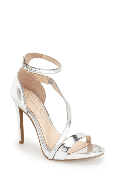 Jessica Simpson Rayli Ankle Strap Patent Sandals In