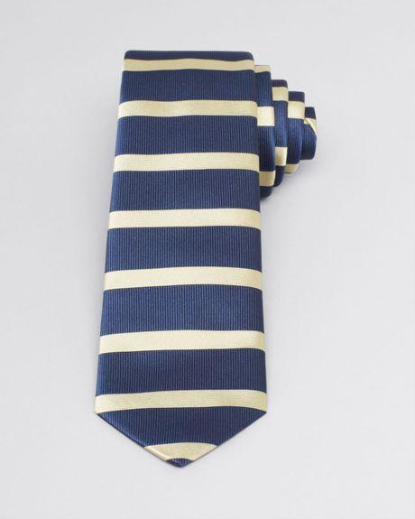 burberry rohan horizontal stripe classic tie in