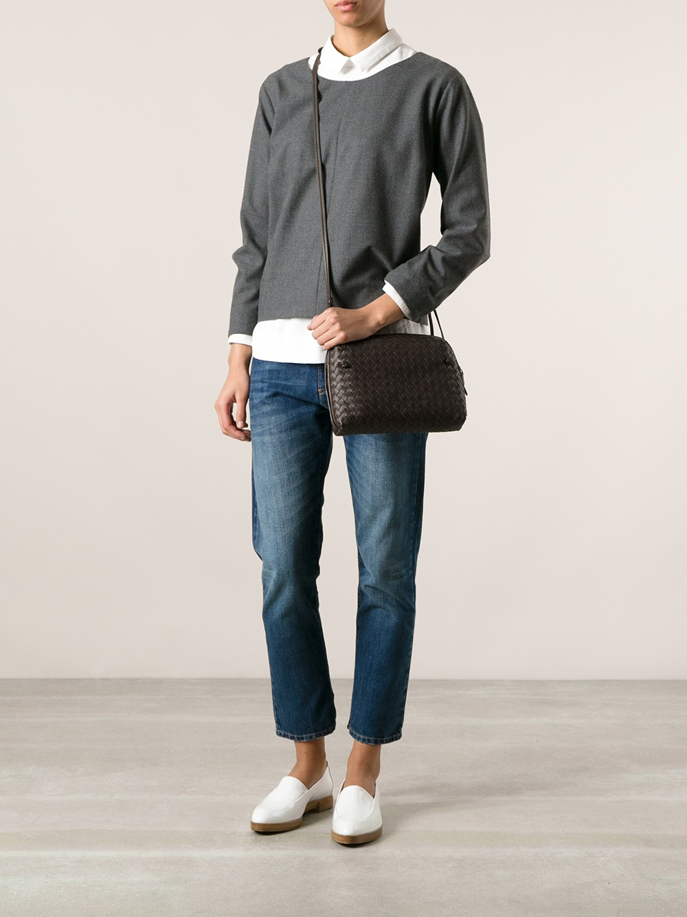 the best purse - bottega veneta intrecciato crossbody bag, bottega veneta wallet sale