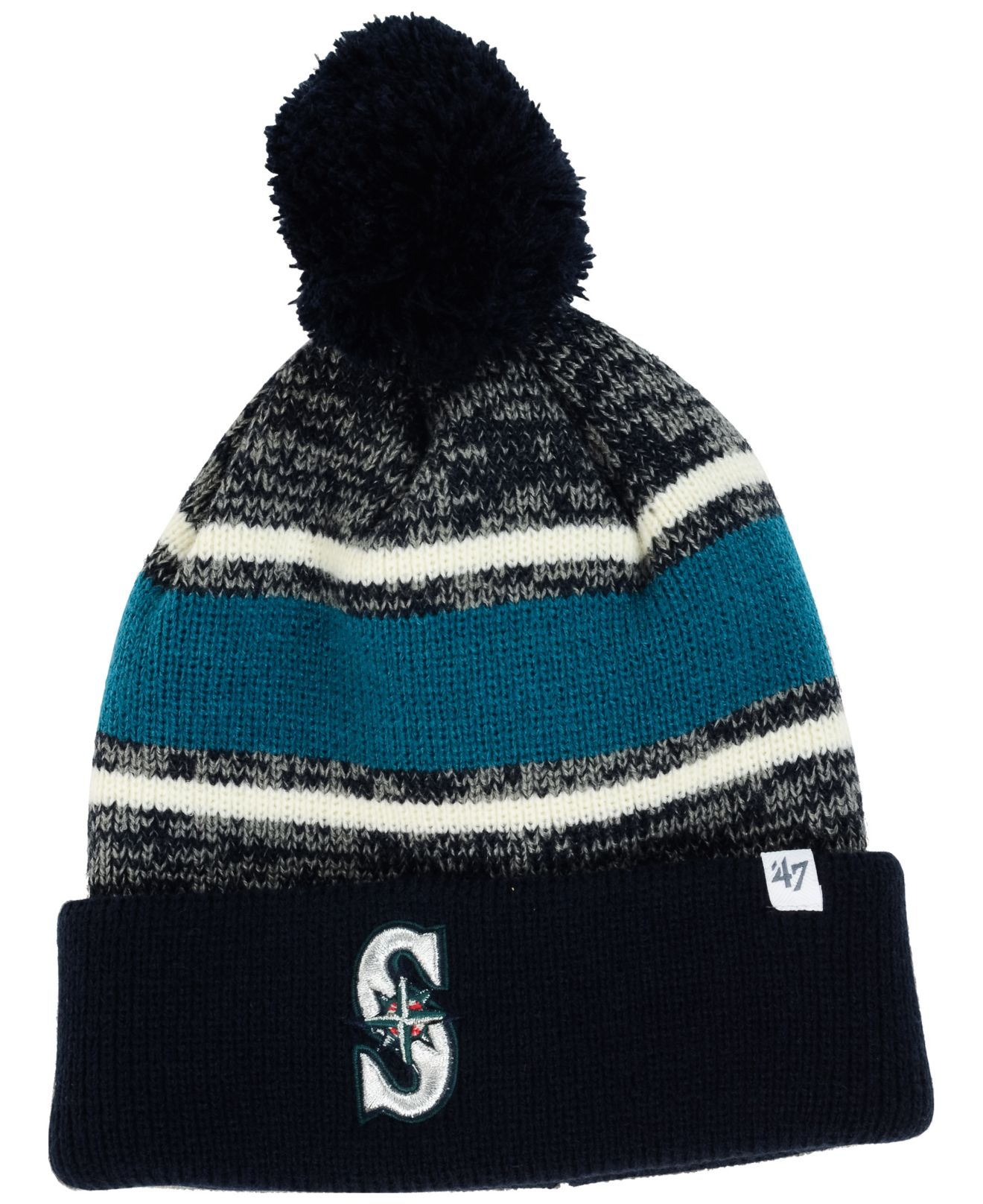 a5a3ef2759ff61 aliexpress whitesox040613 hat 7de01 93640; where can i buy lyst 47 brand  seattle mariners fairfax knit hat in blue for men