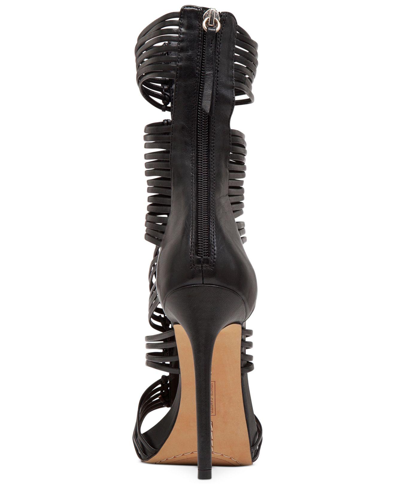 Lyst Vince Camuto Barbara Gladiator Dress Sandals In Black