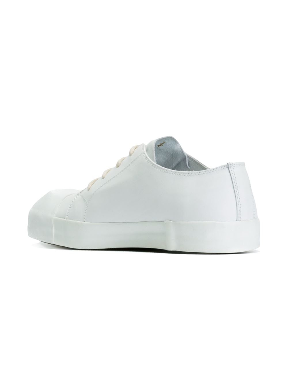 Lyst - Ann Demeulemeester Low-top Sneakers in White 085c9d6a0