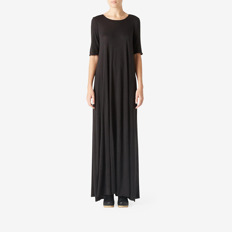 Raquel Allegra Maxi T Shirt Dress In Black Lyst