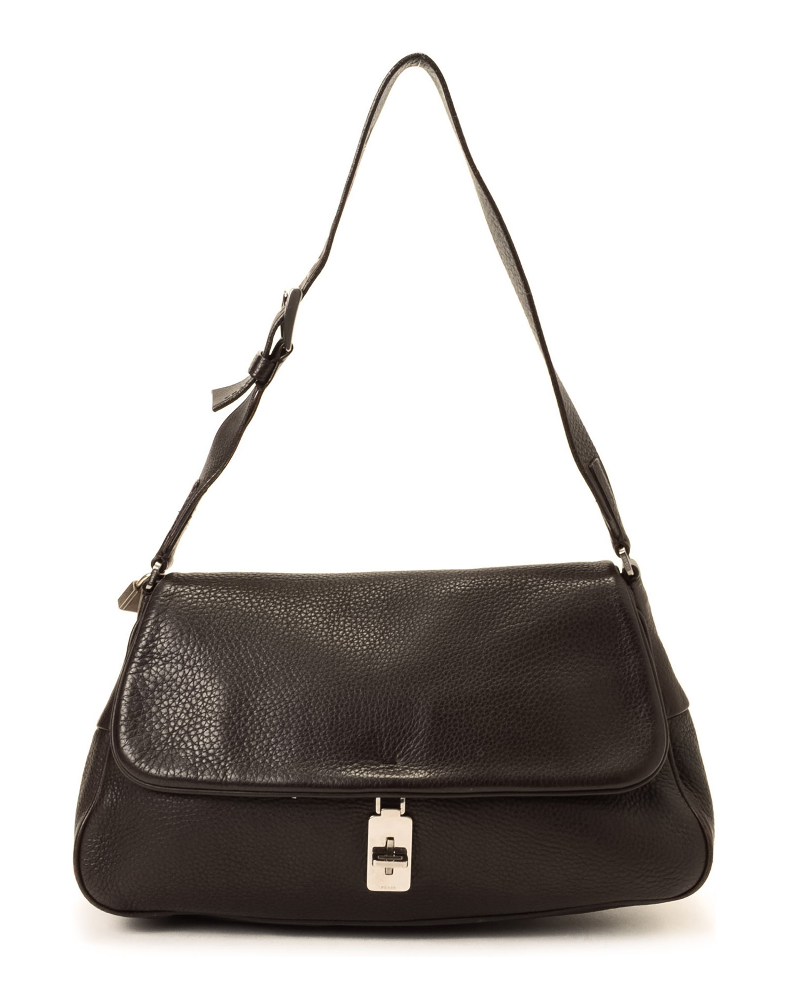 Prada Shoulder Bag - Vintage in Brown | Lyst
