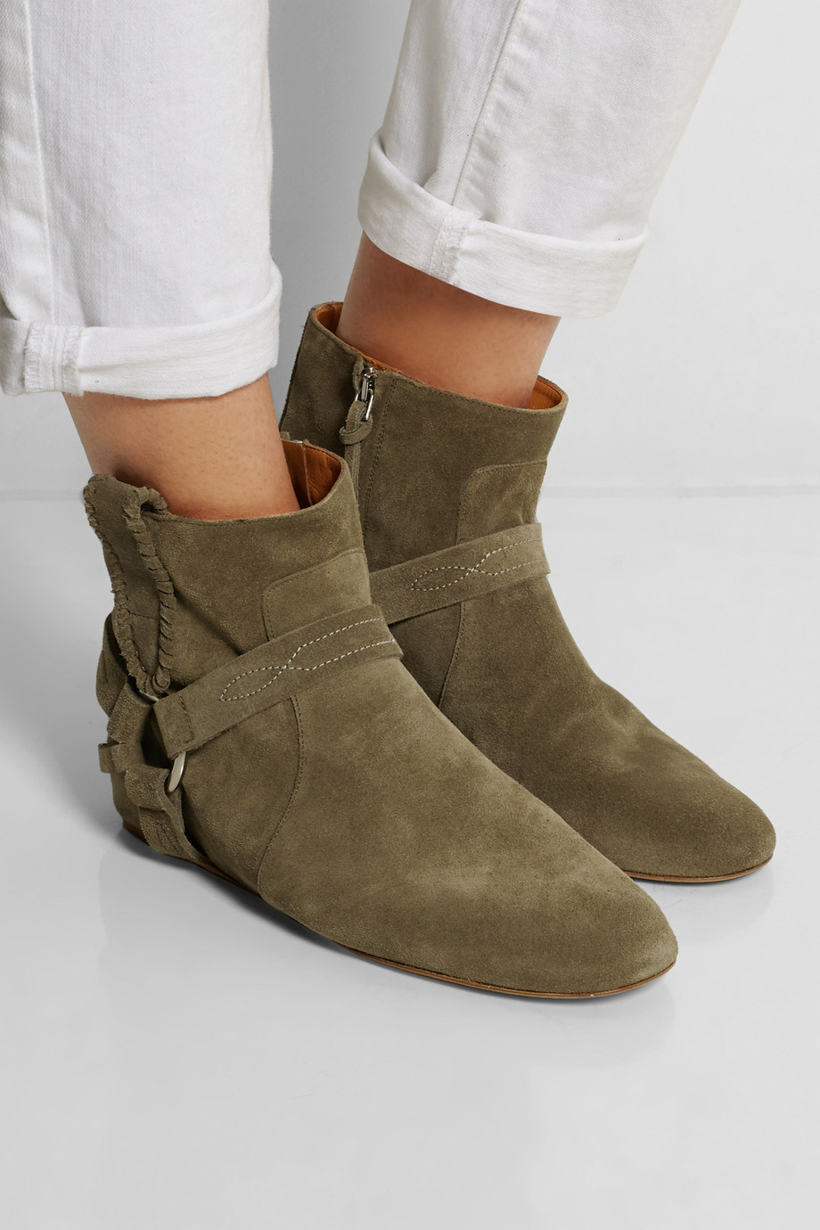 Étoile Isabel Marant Ralf Gaucho Ankle Boots fake online free shipping explore buy cheap find great sale visit new lnUWv6