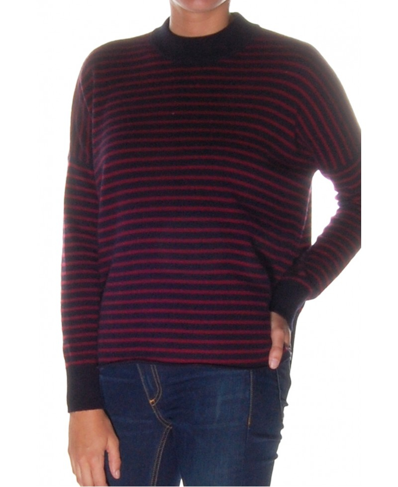 Opinion blue and burgundy striped mens sweaters confirm