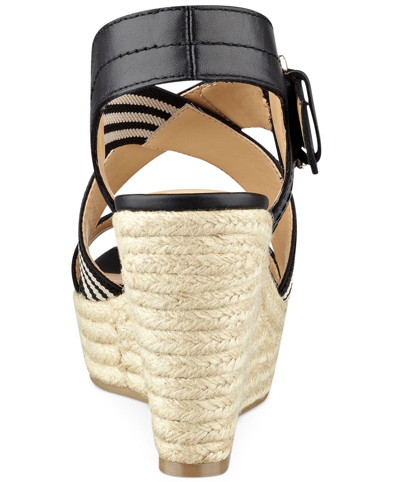Tommy Hilfiger Women S Ignacia Platform Wedge Sandals In