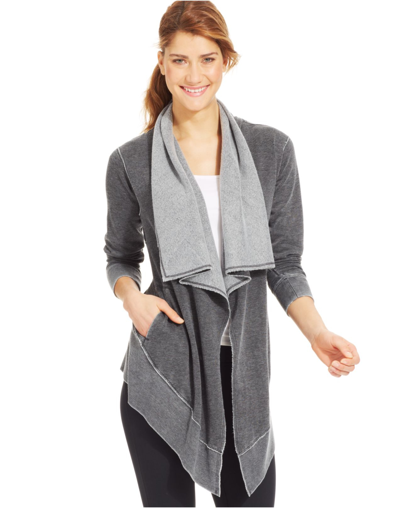 width v bluefly laju com sweater p drapes draped cardigan