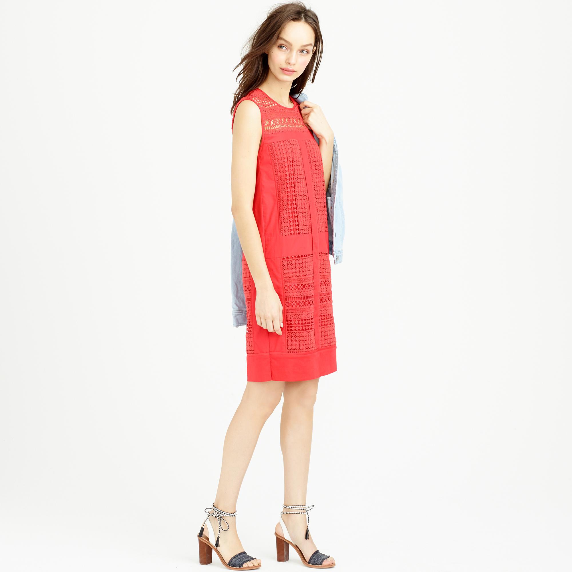 J crew red lace dress | Style lace dress