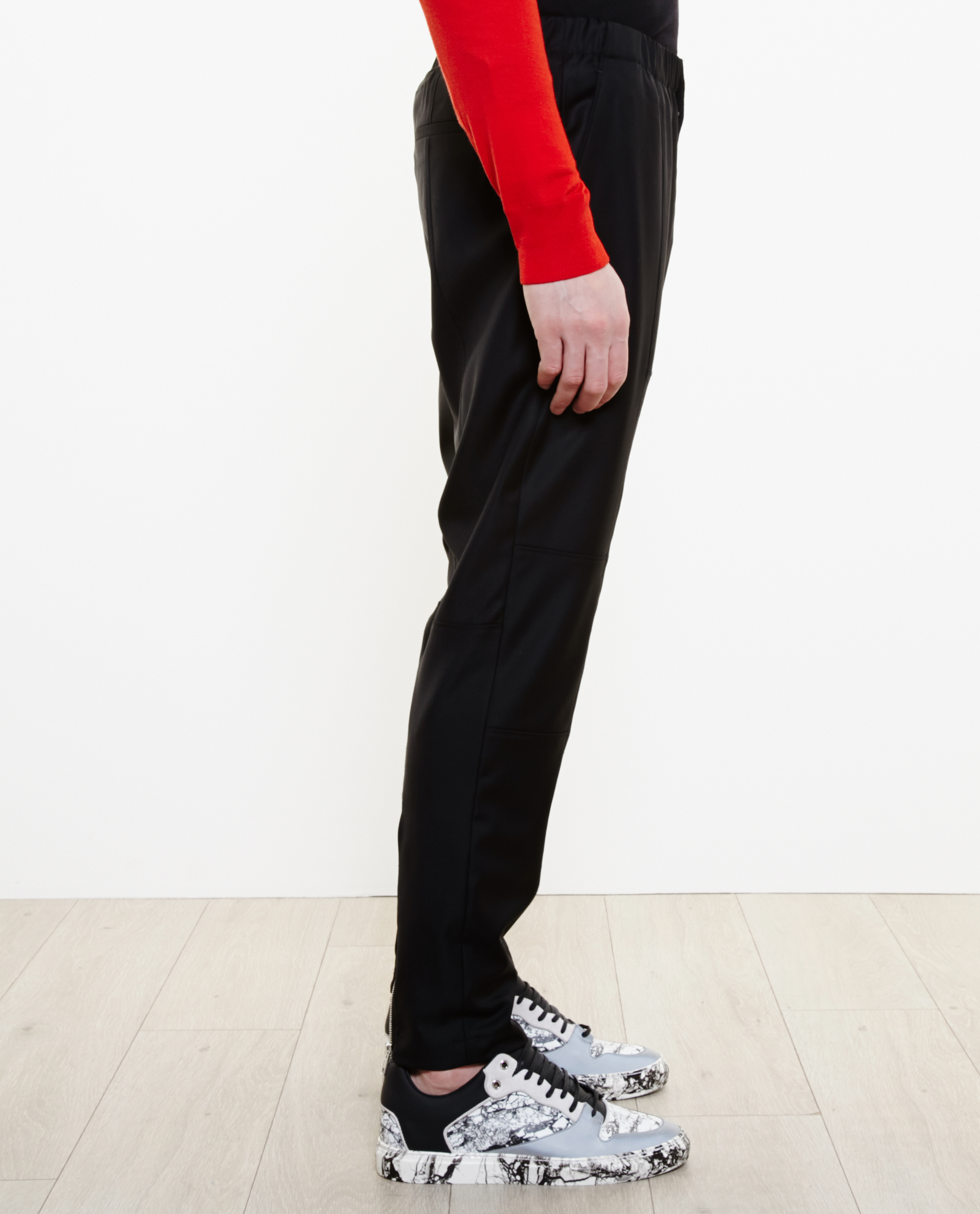 535a5c1f Givenchy Wool Tracksuit Bottoms in Black for Men - Lyst